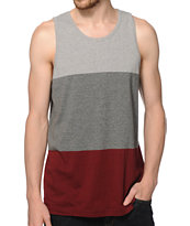 Zine Piecey 3 Tone Tank Top