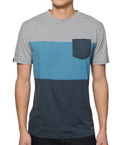 Zine Pseudo 3 Tone Pocket T-Shirt