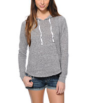 Zine Sandy Grey Pullover Hoodie