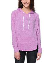 Zine Sandy Purple Pullover Hoodie