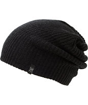 Zine Smith Black Beanie