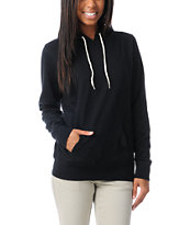 Zine Solid Black Pullover Hoodie at Zumiez : PDP