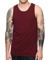 Zine Southside Burgundy Tank Top