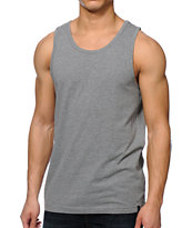 Zine Southside Heather Charcoal Tank Top