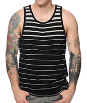 Zine Strike Black Stripe Tank Top
