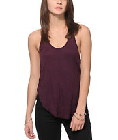 Zine Tau Blackberry Tank Top