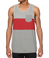 Zine Top Down Stripe Pocket Tank Top