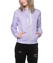 Zine Tulip Violet Windbreaker Jacket