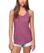 Zine Twist Blackberry Tank Top