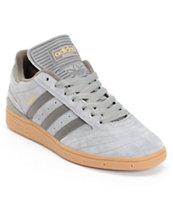 adidas Busenitz Grey, Charcoal, & Gum Skate Shoe