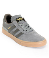 adidas Busenitz Vulc All Grey & Gum Skate Shoes