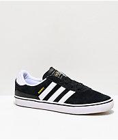 adidas Busenitz Vulc Black & White Skate Shoe