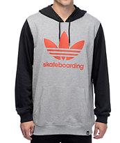 adidas Clima 3.0 Black & Grey Hoodie