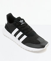adidas Flashback Black & White Womens Shoes