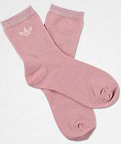 adidas Lurex Pink Socks