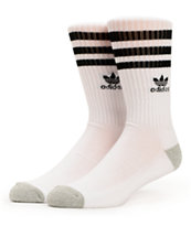adidas Originals White & Black Crew Socks