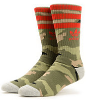 adidas Roller Camo Crew Socks