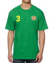 adidas Skate Copa Brazil Green 2014 Team Jersey T-Shirt