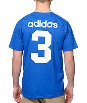 adidas Skate Copa USA Blue 2014 Team Jersey T-Shirt