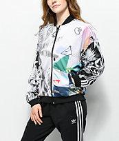 adidas x Farm Abstract Floral Track Jacket