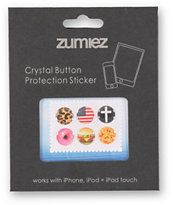iPhone Button Stickers 6 Pack