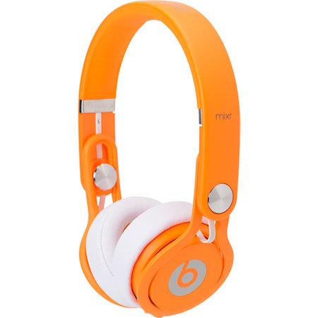 Beats By Dre Mixr Limited Edition Neon Orange Headphones #2: Beats By Dre Mixr Limited Edition Neon Orange Headphones