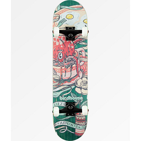 Birdhouse Lizzie Armanto Favorites 7.75&quot Skateboard Complete