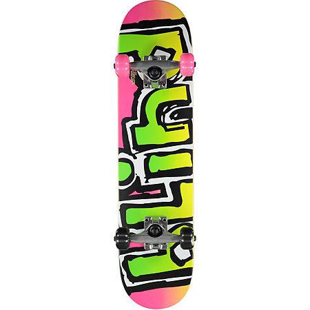 Blind OG Matte 7.0&quot Magenta Mini Skateboard Complete