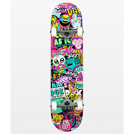 DGK Collage 7.75&quot Skateboard Complete