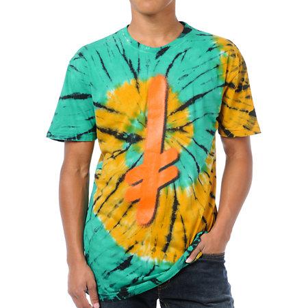 Deathwish Logo Tie-Dyed T-Shirt at Zumiez : PDP