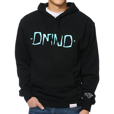 gt; Hoodies and Sweatshirts > Diamond Supply Co. Chalk Hoodie - Black