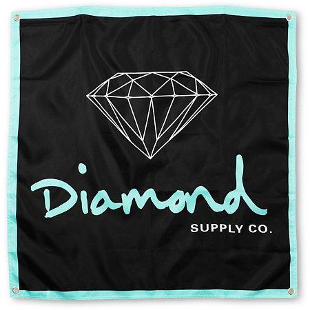 diamond supply co og logo black amp mint banner at zumiez pdp