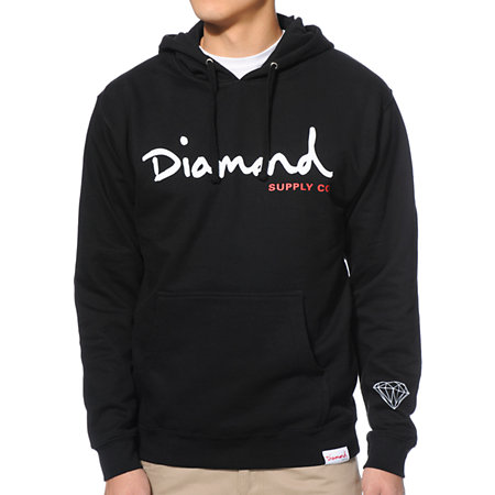 Diamond Supply Co Trillian Black Pullover Hoodie at Zumiez : PDP