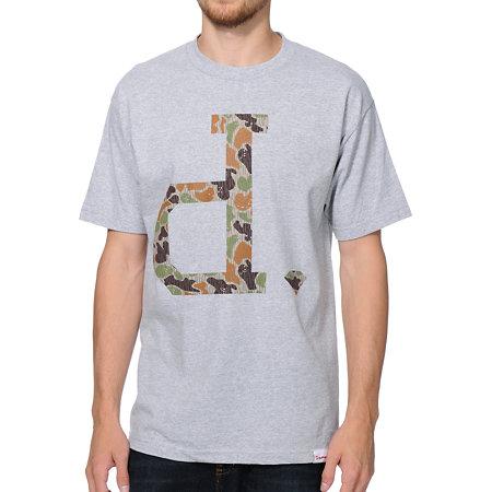 Diamond supply co un polo rain camo grey t shirt at zumiez for Diamond supply co polo shirts