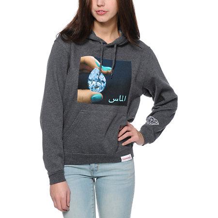 Diamond supply co arabic hoodie