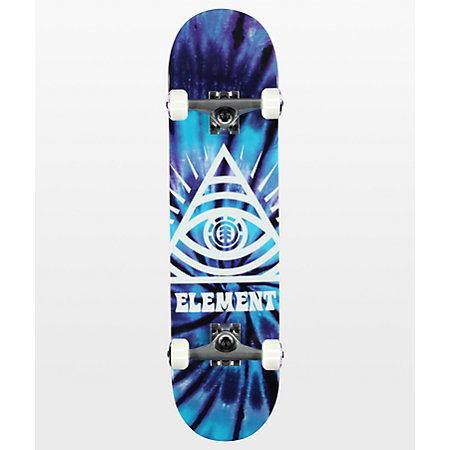 Element Dye Trippin 7.75&quot Skateboard Complete