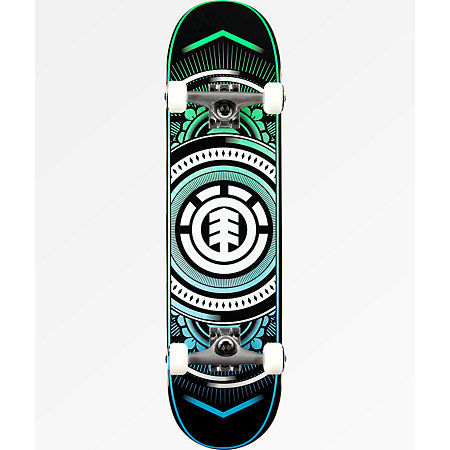 Element Hatched 8.0&quot Skateboard Complete