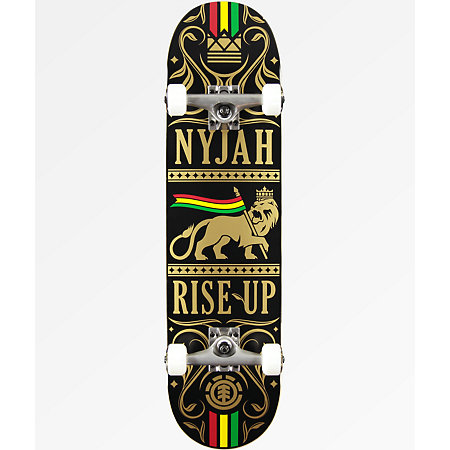 Element Nyjah Rise Up 8.0&quot Skateboard Complete