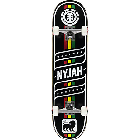 Element Nyjah Sonic 7.7&quot Complete Skateboard