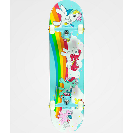 Enjoi x My Little Pony 8.0&quot Skateboard Complete