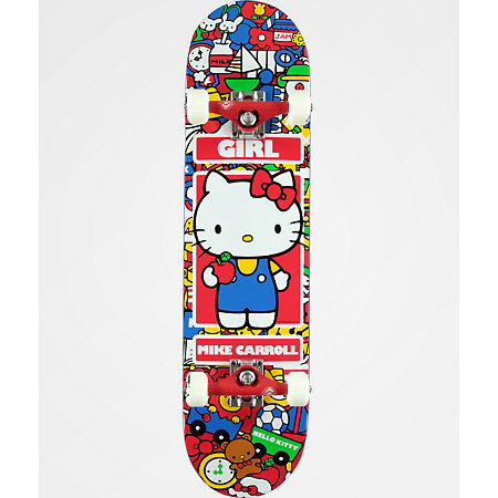 Girl x Hello Kitty Carroll 7.87&quot Skateboard Complete