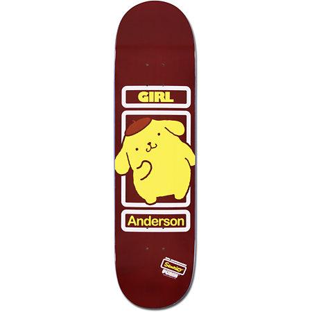 girl x sanrio brian anderson hello kitty 8 5 skateboard. Black Bedroom Furniture Sets. Home Design Ideas