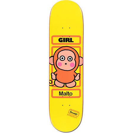 girl x sanrio sean malto hello kitty skateboard deck. Black Bedroom Furniture Sets. Home Design Ideas