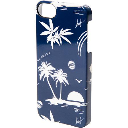 Huf X Incase Hawaiian Blue Iphone 5 Case At Zumiez Pdp