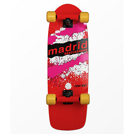 Madrid x Netflix Stranger Things Mad Max Explosion Official Replica 29&quot Skateboard Complete
