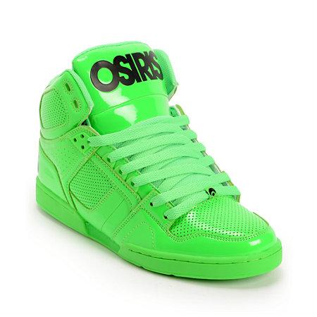 Green Osiris Shoes High Tops Bing Images