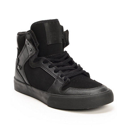All-Black Tennis Shoes for Women