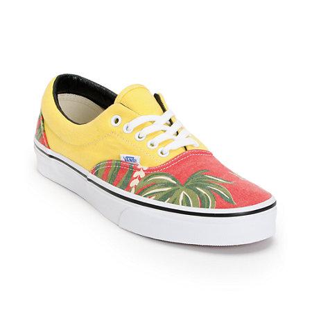 b706cafe510 Vans era van doren hawaiian red canvas shoe at zumiez pdp jpg 450x450 Hawaiian  vans
