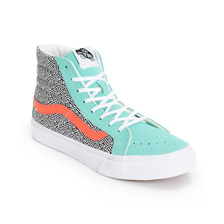 Vans Girls Sk8 Hi Slim... Zumiez Skateboards Dgk