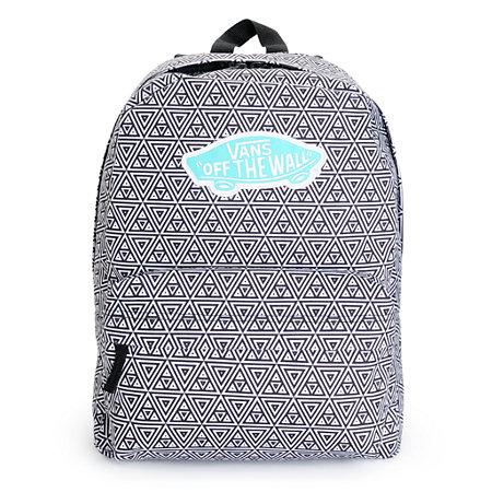 Bags for school online - Vans Backpacks Women Vans Realm Black Amp White Geo